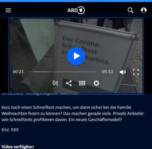 ARD-CORONA-Schnelltest-Hamburg