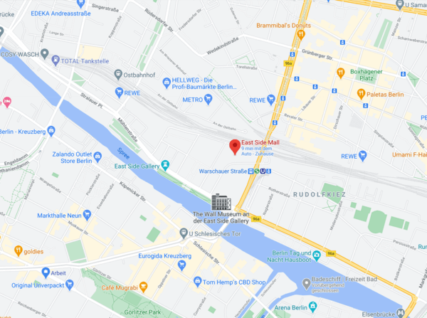 covid test berlin map