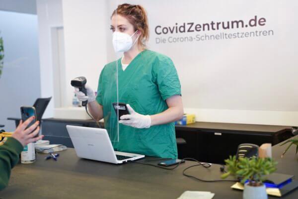 Covidzentrum Ablauf Termin Covid test Schnellzentrum Berlin Dortmund Bremen